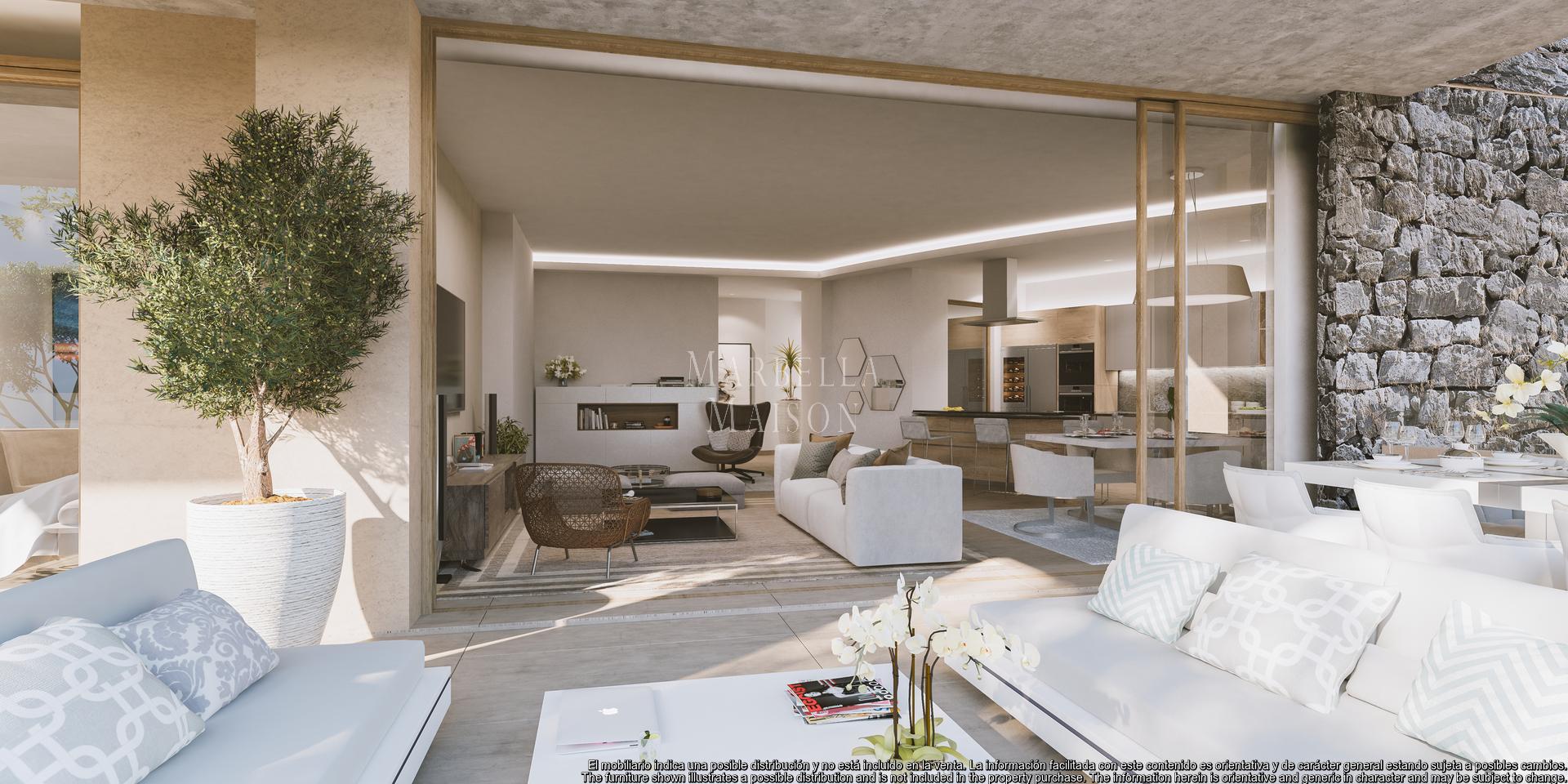 Spectacular apartment in luxurious Resort with panoramic views in Benahavis