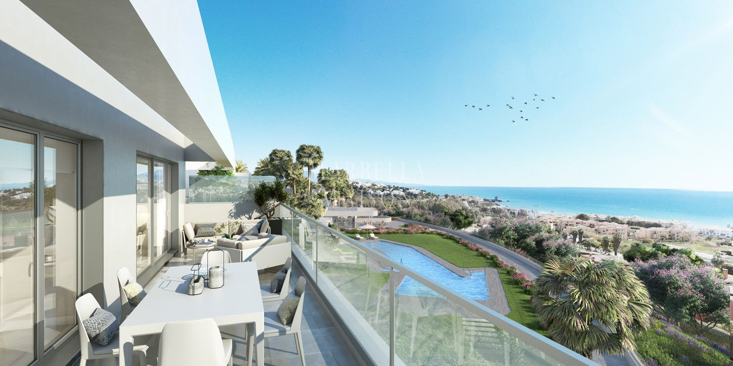 New contemporary apartments in Casares