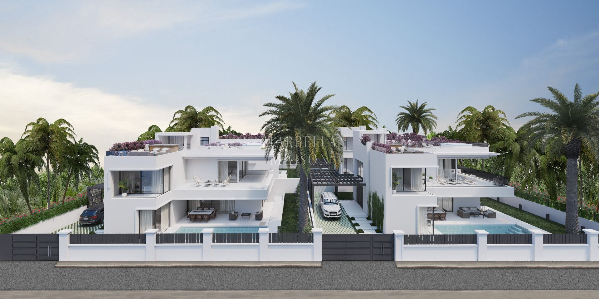 Modern villa on the Golden Mile in Marbella Golden Mile
