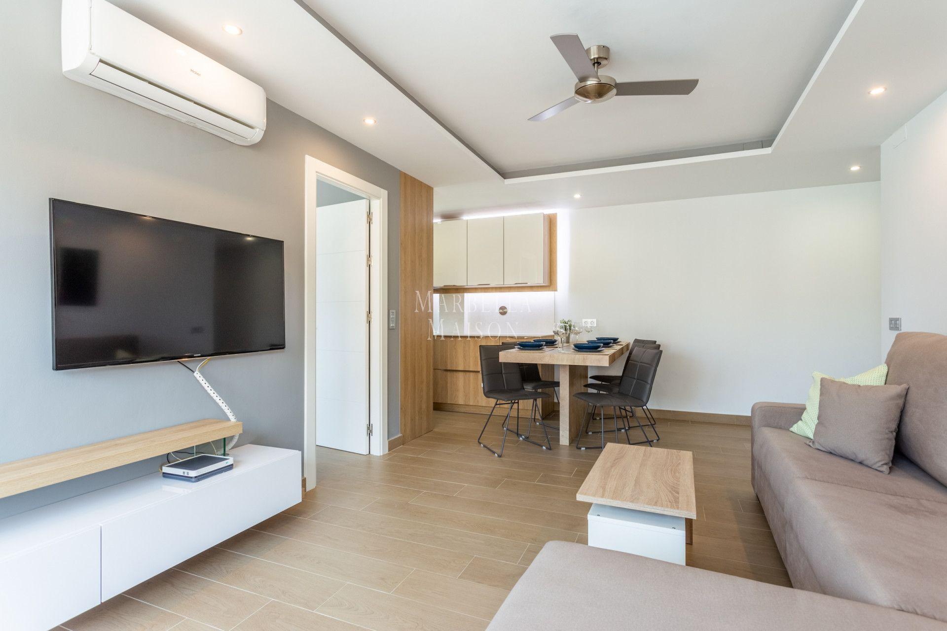Wonderful first line beach apartment in Fuengirola! in Fuengirola
