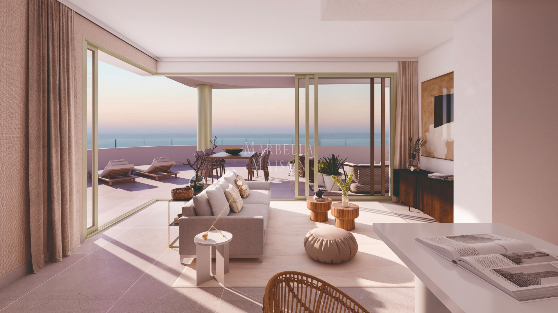 Magnificent apartments and penthouses with stunning views and direct access to the beach in Fuengirola