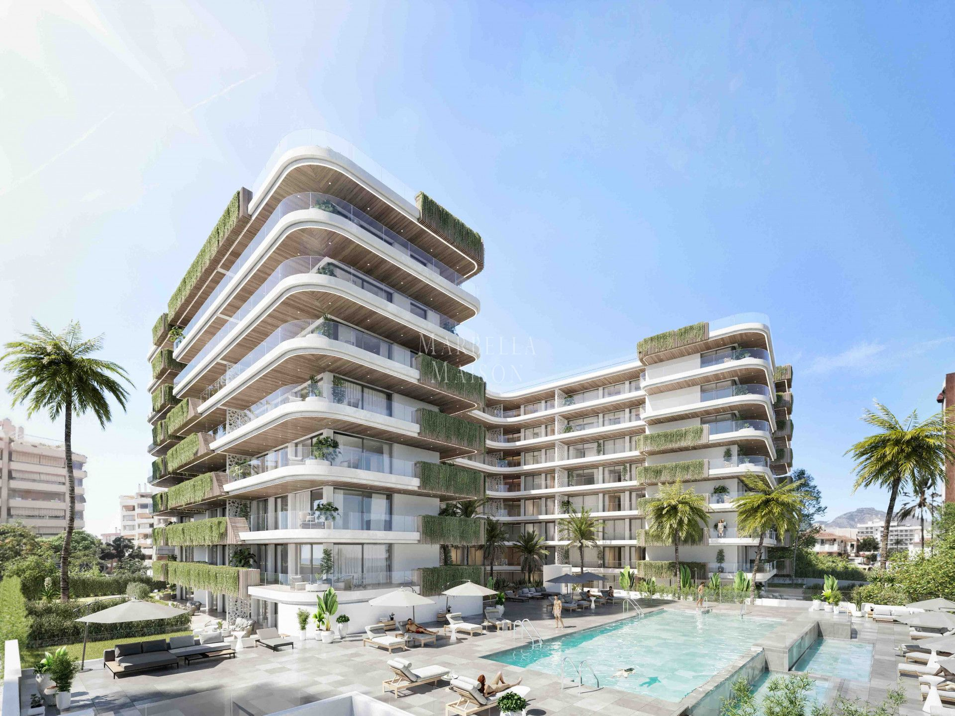 LUXURIOUS NEW APARTMENT WITH LEISURE FACILITIES IN FUENGIROLA in Fuengirola