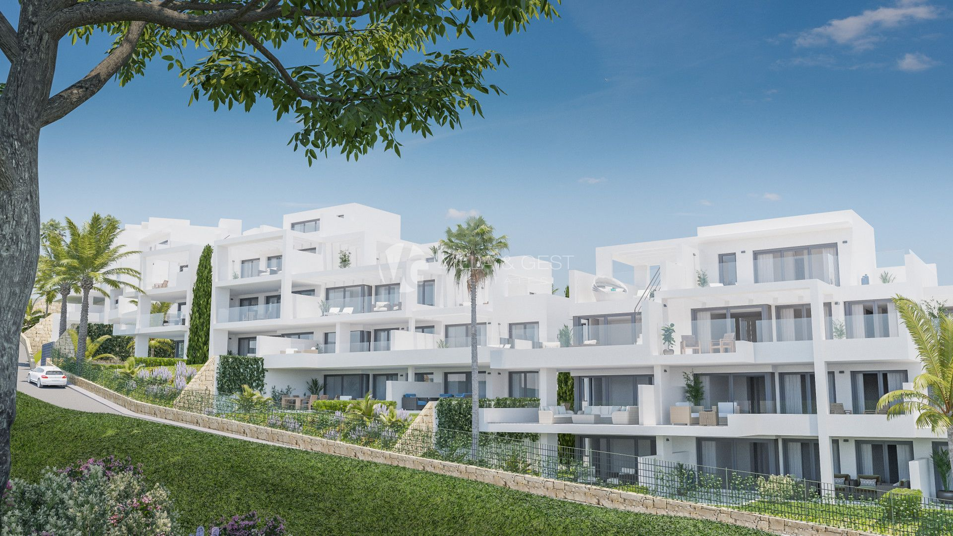 Moderm apartment in nature, Promoción en Estepona